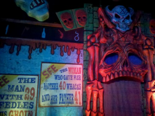 scare zone trip report hhn hollywood � scare zone�