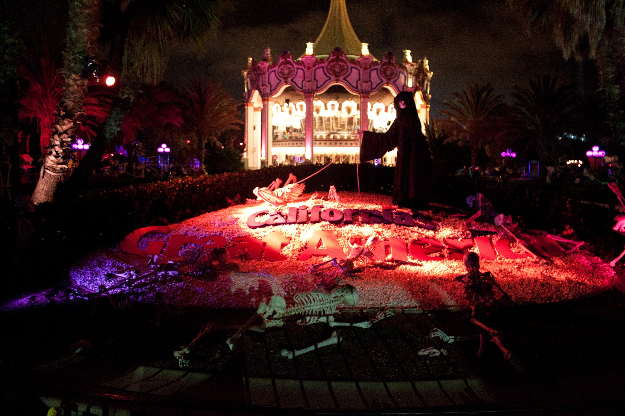 california's great america halloween haunt – scare zone™