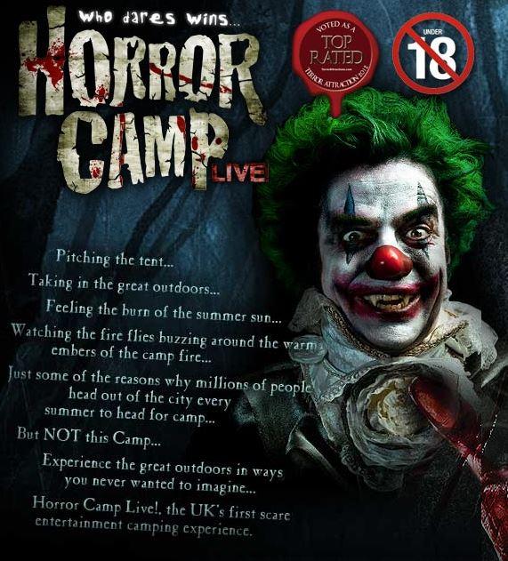 horror camp live
