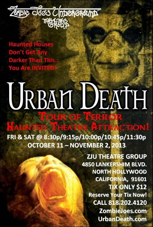 Urban Death Flyer 2