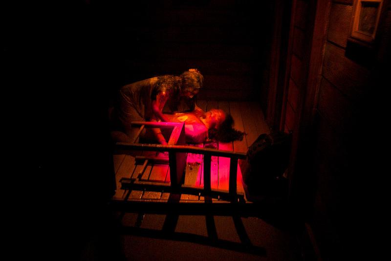 Evil Dead puke scene
