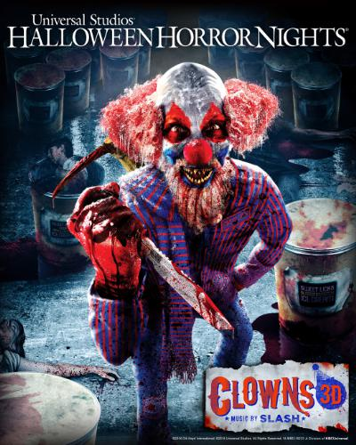 Universal Studios Hollywood Clowns 3D