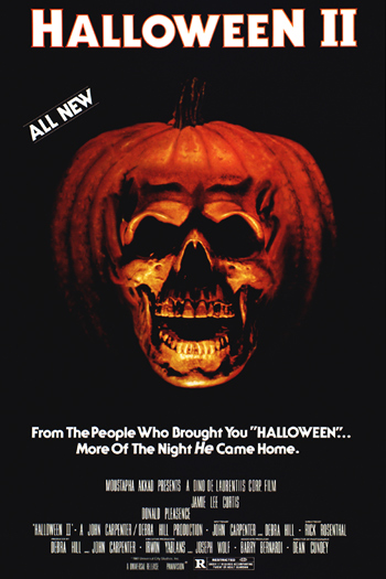 halloween ii 1981 more of the night that comes home picks up where the events of halloween left off michaels body is missing from the front lawn - Halloween Movie History