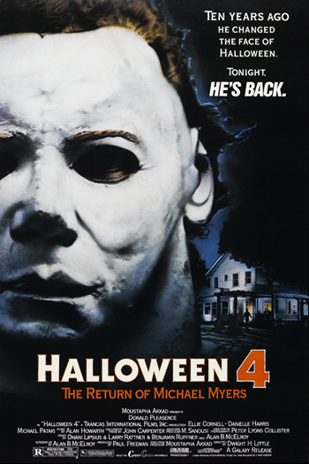 halloween 4 the return of michael myers 1988 as the title suggests features the return of michael myers george p wilbur to the film series - Halloween Movie History