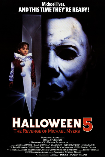 halloween 5 the revenge of michael myers 1989 picking up directly where the previous film ends michael don shanks surviving the gunshots - Halloween Movie History