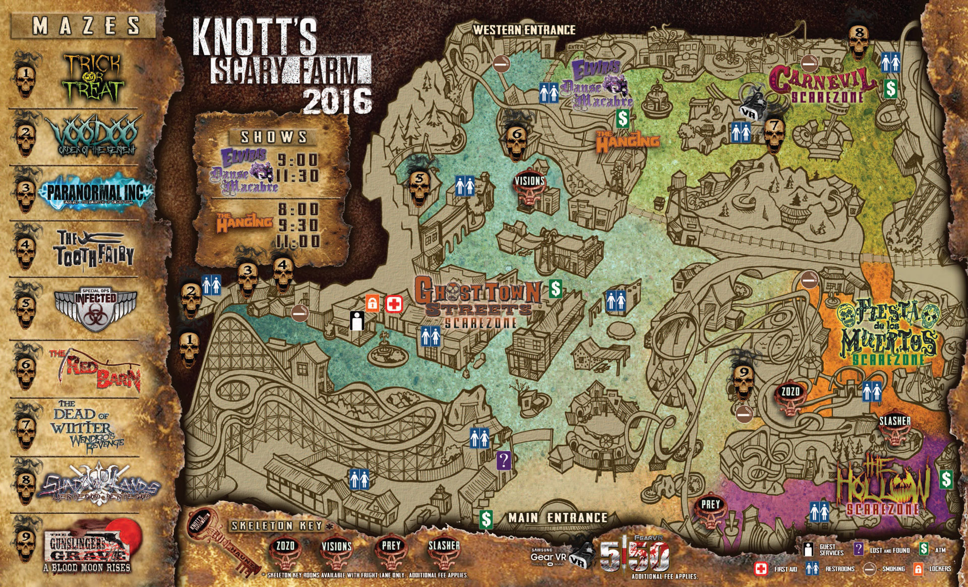 Knotts scary farm discount coupons