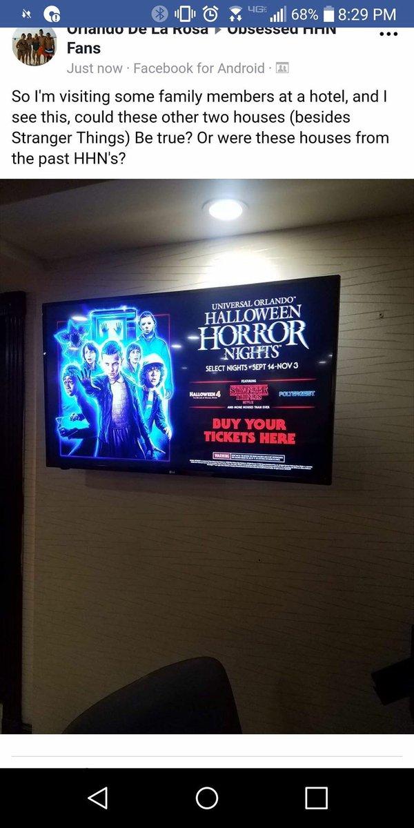 Halloween Horror Nights 2018 Halloween 4